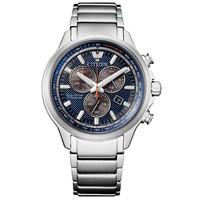 Citizen Citizen AT2470-85L Eco-Drive Super Titanium chronograaf horloge 43 mm
