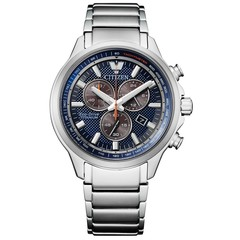 Citizen AT2470-85L Eco-Drive Super Titanium chronograaf horloge