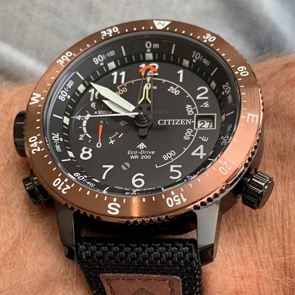 Citizen Citizen BN4049-11E Promaster Altichron horloge 46 mm