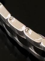 Horlogeband inkorten: schakel met schroefjes