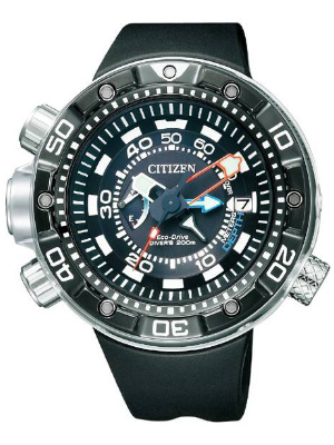 Vocht in mijn horloge, Citizen duikhorloge