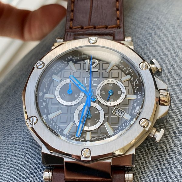 Gc Guess Collection Gc Guess Collection Y53004G1MF Spirit heren horloge 44 mm