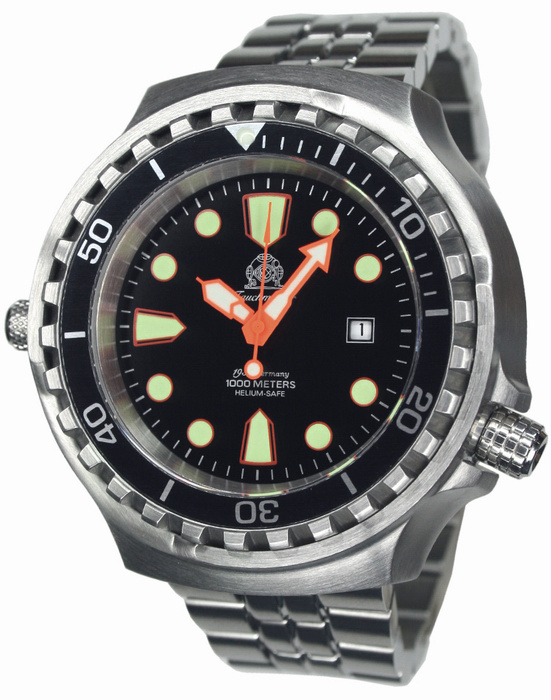 Tauchmeister horloge met saffierglas