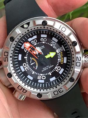 Citizen BN2021-03E Promaster Marine Eco-Drive heren horloge SHOWROOMHORLOGE