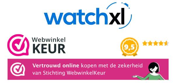 WatchXL klantenrecensies WebwinkelKeur