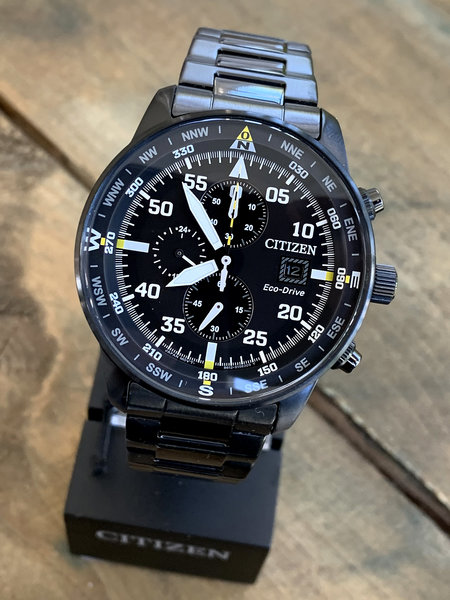 Citizen Citizen CA0695-84E chronograaf Eco-Drive herenhorloge 44 mm