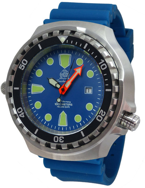 Tauchmeister Tauchmeister T0323BLU duikhorloge 52mm