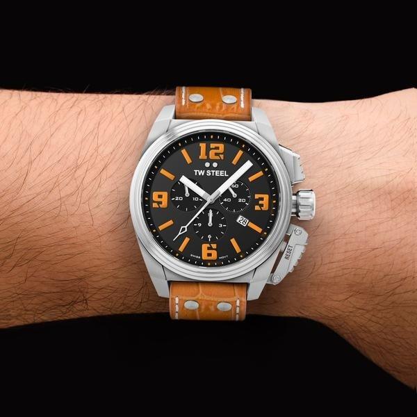 TW Steel TW Steel TW1012 Canteen horloge Swiss Movement