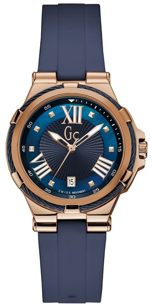 Gc Guess Collection Gc Guess Collection Y34001L7 Structura Cable dames horloge 36 mm