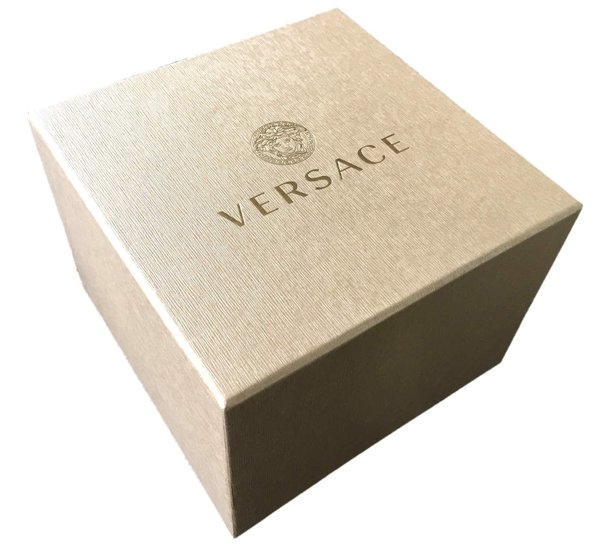 Versace Versace VE8101519 V-Circle dames horloge 38 mm