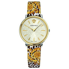 Versace VBP120017 V-Circle dames horloge 38 mm