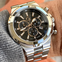 Gc Guess Collection Gc Guess Collection Y23002G2MF Gc Structura heren horloge 44 mm