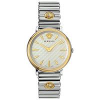Versace Versace VE8101419 V-Circle dames horloge 38 mm