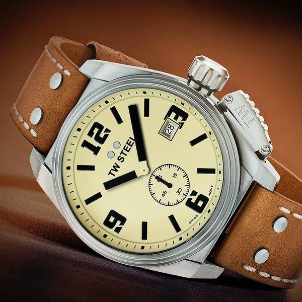 TW Steel TW Steel TW1000 Canteen horloge Swiss Movement