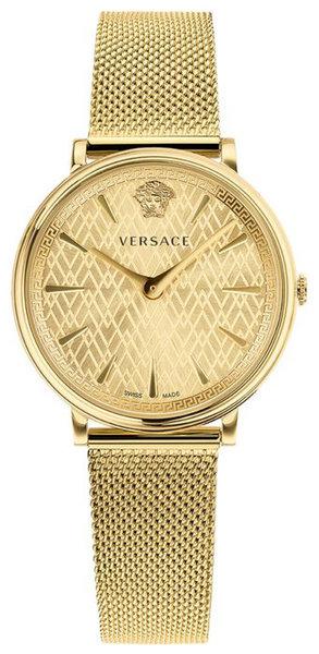 Versace Versace VE8100619 V-Circle dames horloge 38 mm