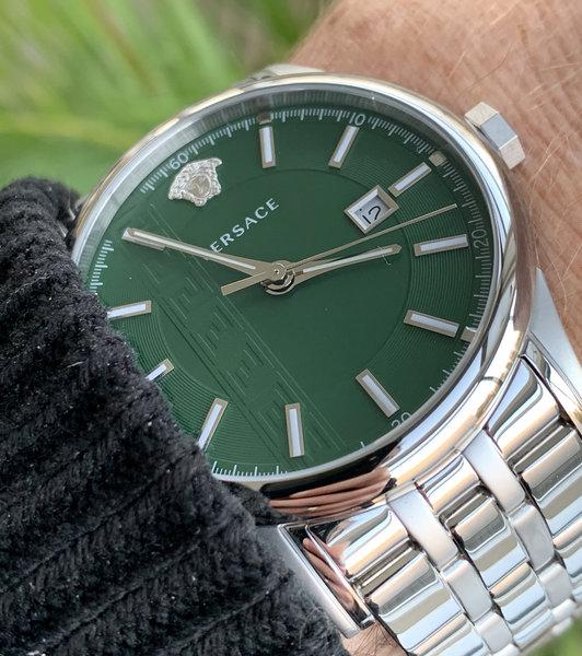 Versace Versace VE4A00620 Aiakos heren horloge 44 mm