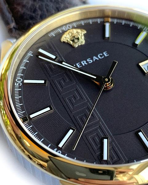 Versace Versace VE4A00320 Aiakos heren horloge 44 mm