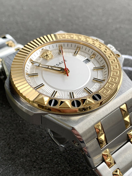 Versace Versace VEDY00519 Chain Reaction heren horloge 45 mm