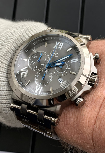 Gc Guess Collection Gc Guess Collection Y44005G5MF Insider heren horloge 44 mm