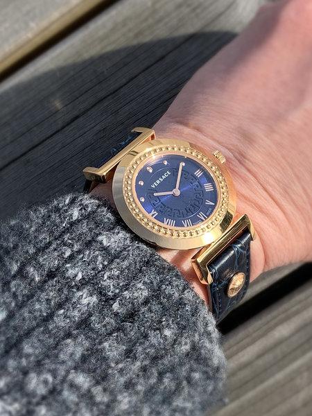 Versace Versace P5Q80D282S282 Vanity dames horloge 35 mm