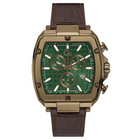 Gc Guess Collection Gc Guess Collection Y83002G5MF Spirit Tonneau heren horloge 48 mm