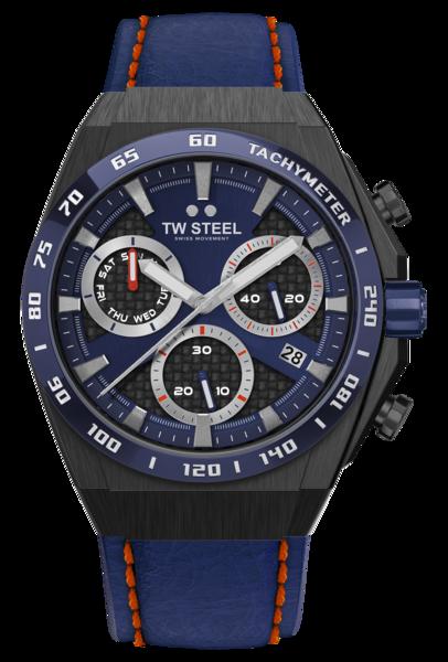 TW Steel TW Steel CE4072 Fast Lane Limited Edition heren horloge 44 mm