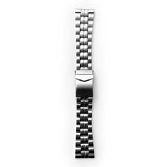 Tauchmeister 22mm stalen horlogeband S22-steel
