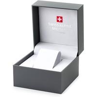 Swiss Alpine Military Swiss Alpine Military 7040.9145 heren horloge chronograaf 44 mm