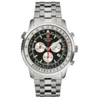 Swiss Alpine Military Swiss Alpine Military 7078.9137 chronograaf heren horloge 45 mm