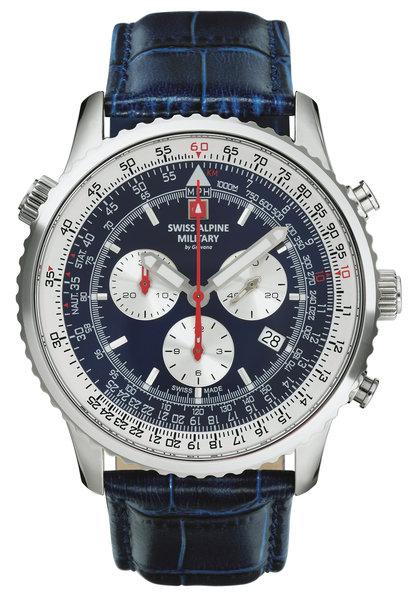 Swiss Alpine Military Swiss Alpine Military 7078.9535 chronograaf heren horloge 45 mm