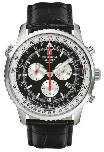 Swiss Alpine Military Swiss Alpine Military 7078.9537 chronograaf heren horloge 45 mm