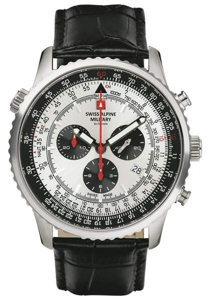 Swiss Alpine Military Swiss Alpine Military 7078.9538 chronograaf heren horloge 45 mm