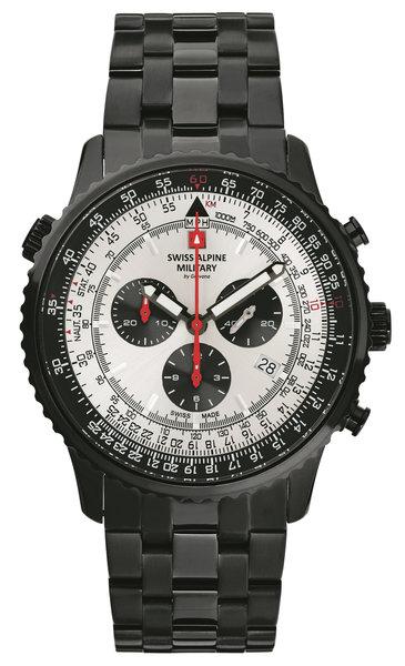 Swiss Alpine Military Swiss Alpine Military 7078.9172 chronograaf heren horloge 45 mm