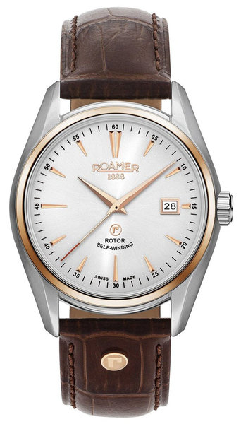 Roamer Roamer 210633 49 25 02 Searock Classic horloge 42 mm