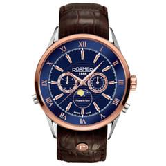 Roamer 508821 49 43 05 Superior Moonphase horloge