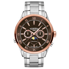 Roamer 508821 47 63 50 Superior Moonphase horloge