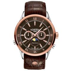 Roamer 508821 47 63 05 Superior Moonphase horloge