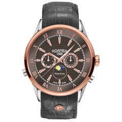 Roamer 508821 47 53 05 Superior Moonphase horloge