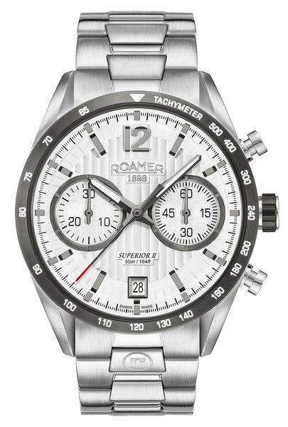 Roamer Roamer 510902 41 14 50 Superior Chrono II horloge 42 mm