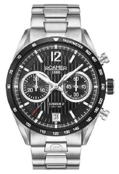 Roamer Roamer 510902 41 54 50 Superior Chrono II horloge 42 mm
