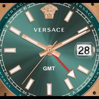 Versace ✅ Weekenddeal! Versace V11050016 Hellenyium heren horloge 42 mm