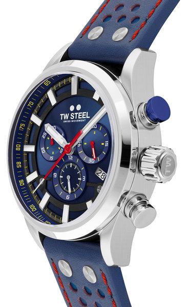 TW Steel TW Steel SVS206 Fast Lane Limited Edition heren horloge 48 mm