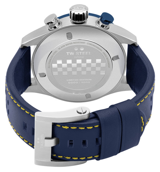 TW Steel TW Steel SVS208 Fast Lane Limited Edition heren horloge 48 mm