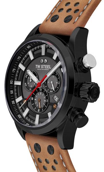 TW Steel TW Steel SVS209 Fast Lane Limited Edition heren horloge 48 mm