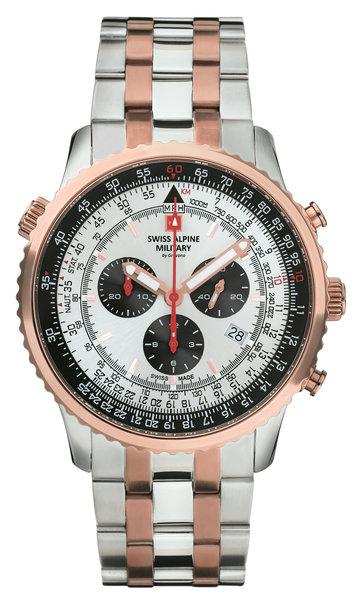 Swiss Alpine Military Swiss Alpine Military 7078.9152 chronograaf heren horloge 45 mm  DEMO