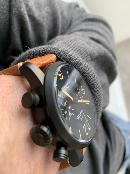 TW Steel TW Steel MS34 Maverick chronograaf horloge 48 mm OP=OP