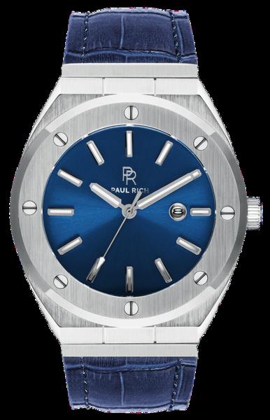 Paul Rich Paul Rich Signature Deep Dive Leer PR68SBBL horloge 45 mm