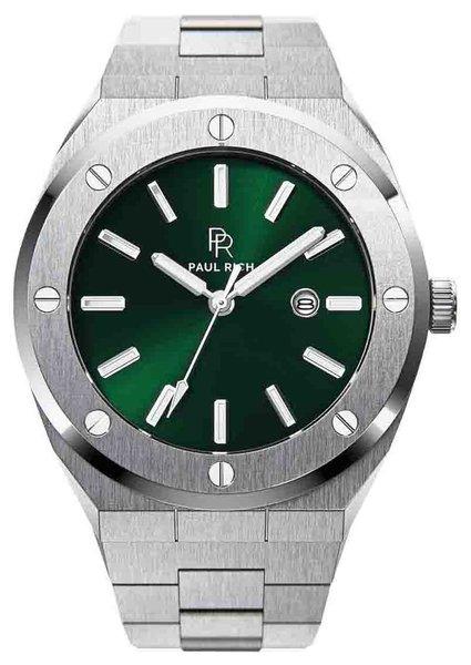 Paul Rich Paul Rich Signature Emperor's Emerald Staal PR68SGS horloge 45 mm