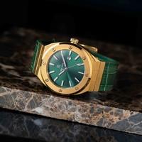 Paul Rich Paul Rich Signature King's jade Leer PR68GGL horloge 45 mm