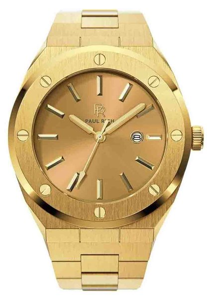 Paul Rich Paul Rich Signature Midas Touch Staal PR68AGS horloge 45 mm
